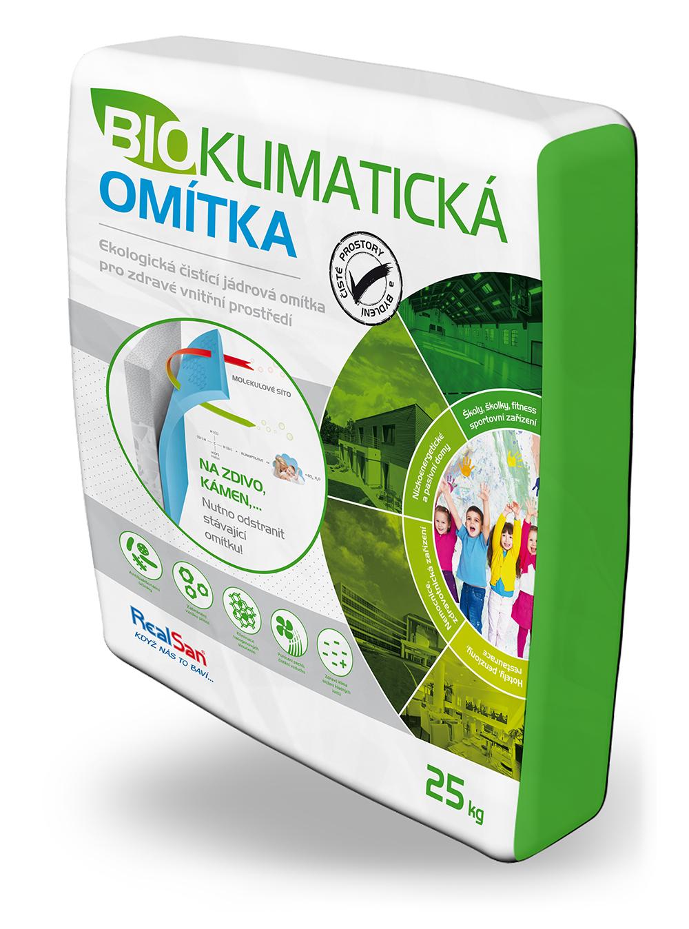 bioklimatická omítka